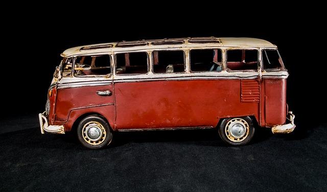Sheet Metal Car, Model Car, Vw Bus, Volkswagen, Camper
