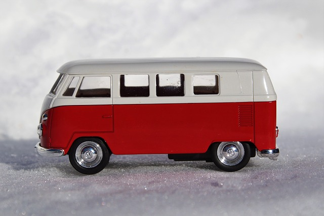 Model Car, Auto, Vehicles, Vw, Bulli, T1, Transport