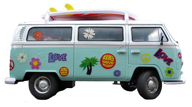 Vw Bus, Cult, Model Car, Classic