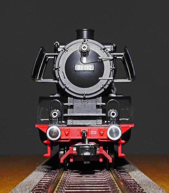 Steam Locomotive, Model, Model Railway, Express Train