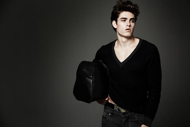 Fashion, Fashionable, Hairdo, Man, Model, Person