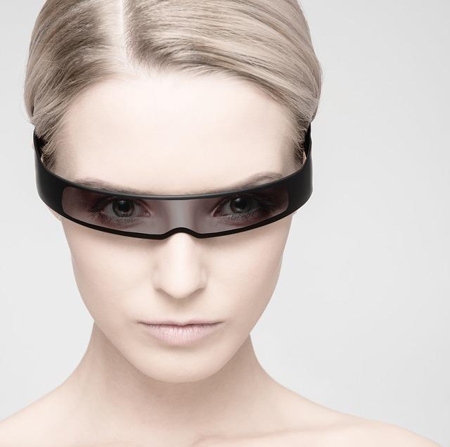 Model, Portrait, Girl, Blond, Face, Human, Glasses