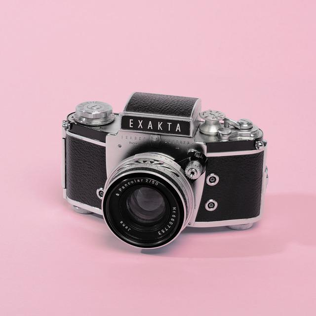 Camera, Product, Pink, Studio, Rose, Photography, Model