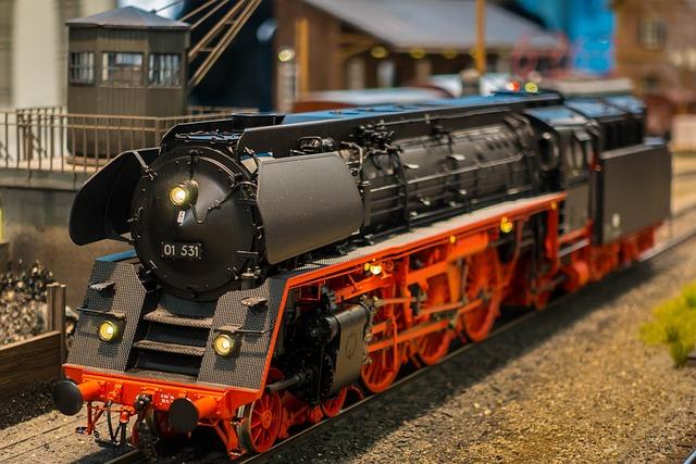 Railway, Model, Model Railway, Toys, Traffic, Loco
