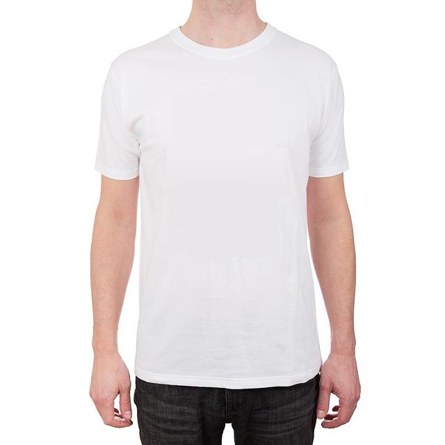 T-shirt, White, Garment, Rags, Vacuum, Cancas, Model