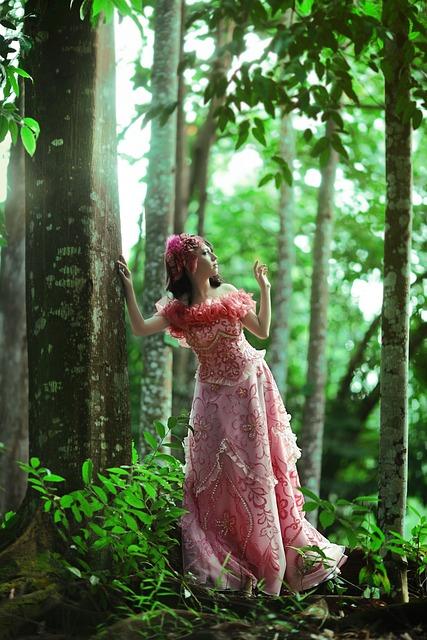 Beautiful Woman, Dress, Forest, Model, Woman Dress