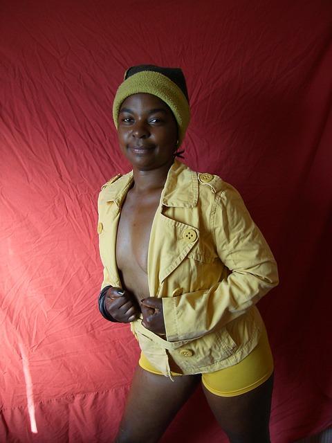 Ebony, Woman, Model