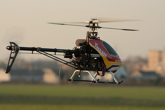 Rc Model Making, Helicopter, Modelling