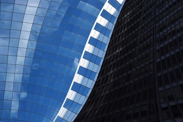 Architecture, Futuristic, Modern, Glass Items, Business