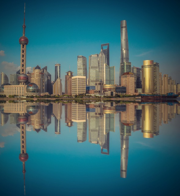 Shanghai, China, City, Modern City, Skyscrapers