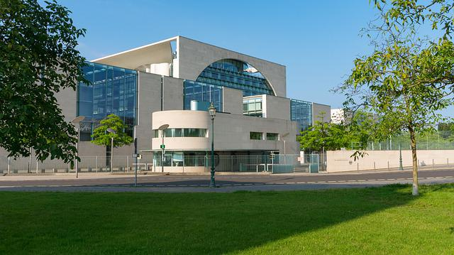 Federal Chancellery, Architecture, Modern, Contemporary