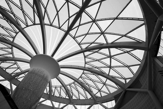 Architecture, Ceiling, Modern, Shape, Futuristic