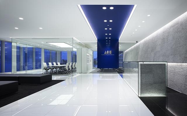 Building, Interior, Inside, Modern, Offices