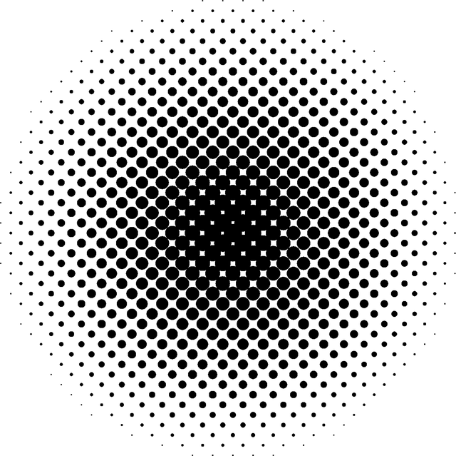 Halftone, Pattern, Dot, Modern, Retro, Texture, Circle