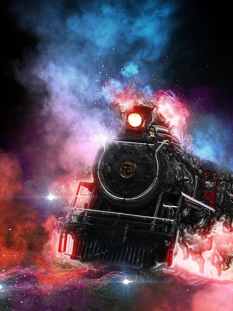 Train, Locomotive, Transport, Railway, Wagon, Modern