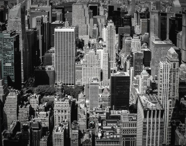New York, Us, Manhatan, Modern, Architecture