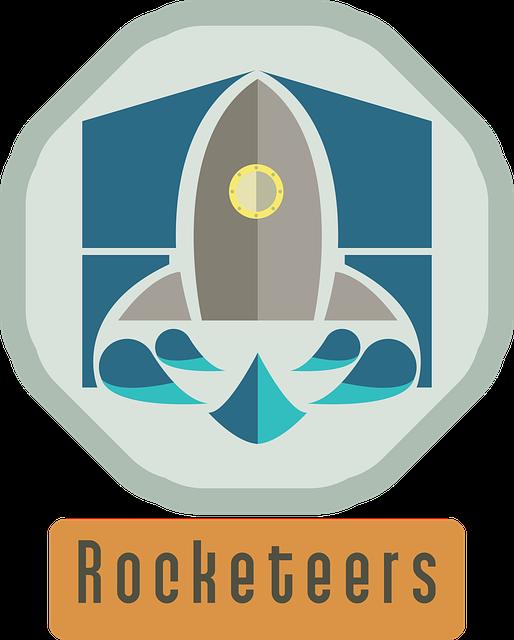 Rocket, Logo, Water, Modern, Company, Speed, Logotype