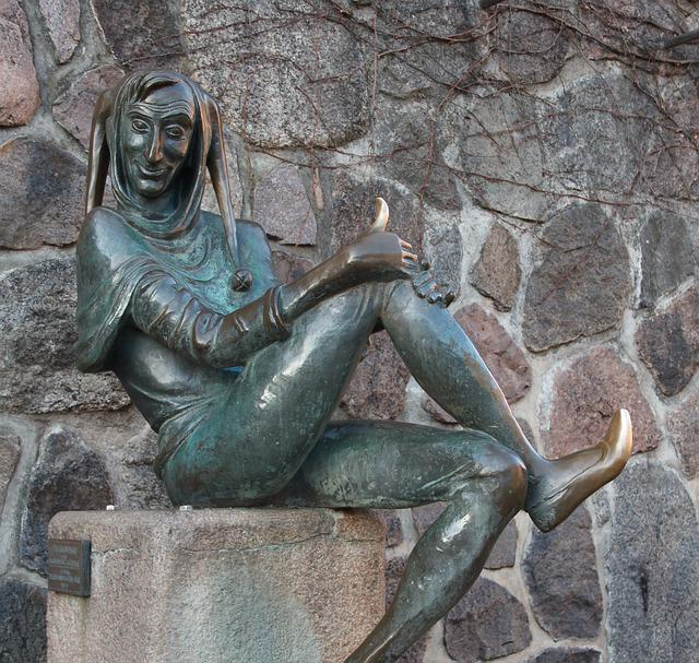 Till Eulenspiegel, Monument, Mölln, Mecklenburg, City