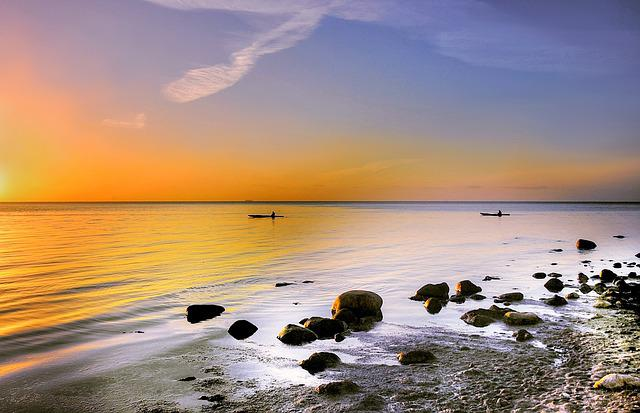 Denmark, Món, Island, Baltic Sea, Rock, Moens Klint