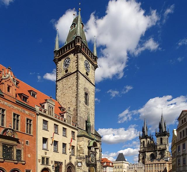 Czech Republic, Prague, Moldova, Architecture