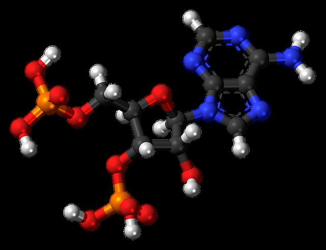 Adenosine Biphosphate, Nucleotide, Molecule, Structure