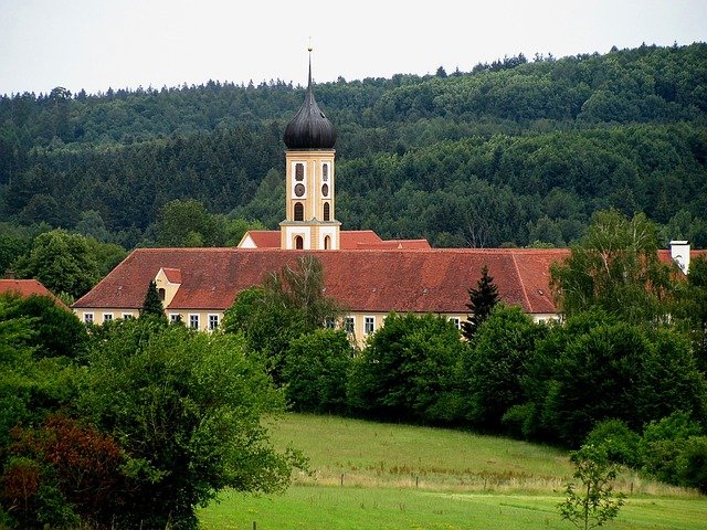 Church, Monastery, Abbey, Monastery Church, Christian