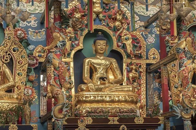 Buddha, Monastery, Bodhisattva, Tibetan, Religious