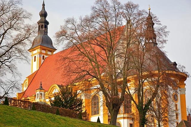 Monastery, Church, Monastery Church, Architecture