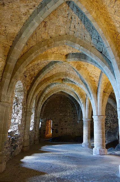 Arch, Monastery, Architecture, Design, Old, Medieval