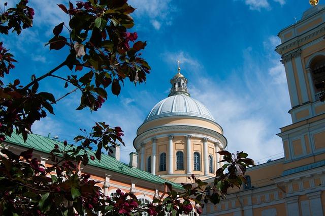 Architecture, Laurel, Alexander Nevsky Lavra, Monastery