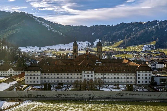 Monastery, Church, Building, Historically, Middle Ages