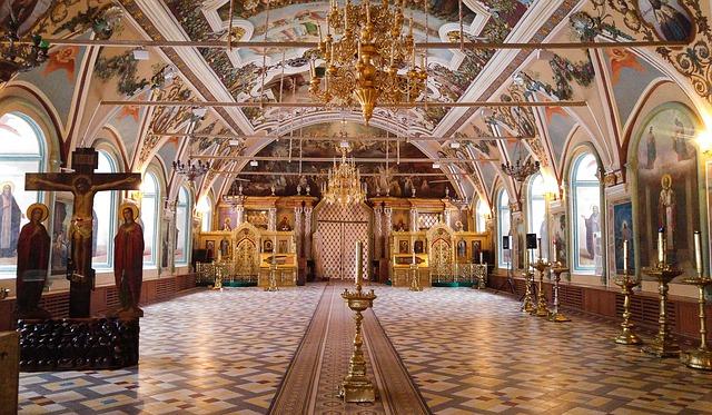 Russia, Sergei Posad, Monastery, Orthodox, Church