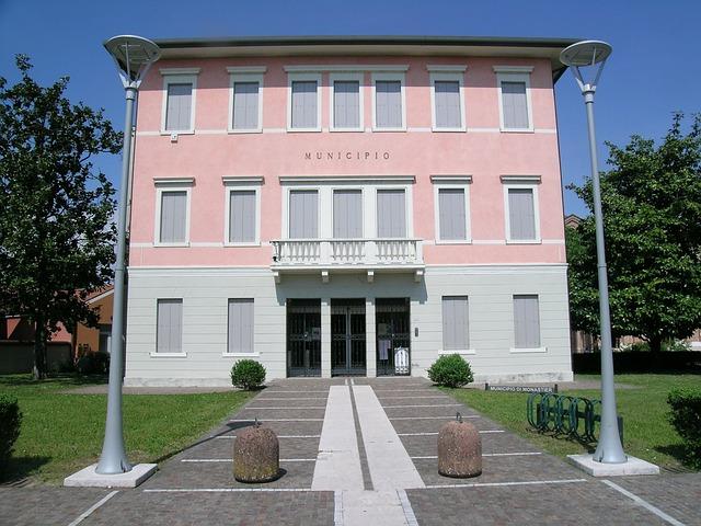 Town Hall, Monastier Treviso, Veneto
