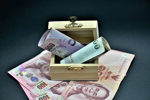 Money, Bank Note, Chest, Paper Money