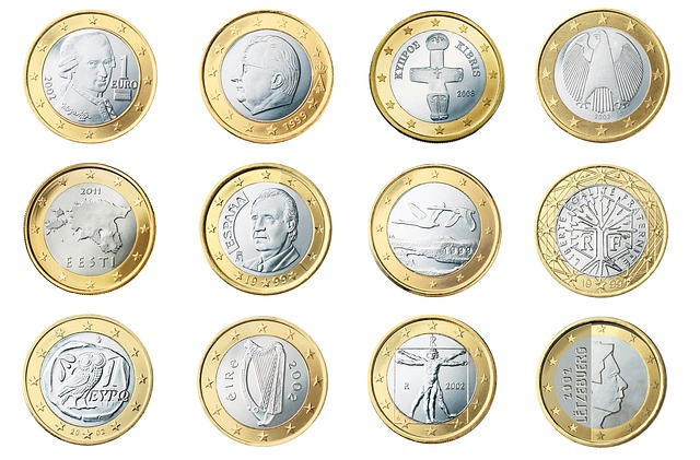 Coins, Currency, Euro, Money, Cash, Wealth, Finance