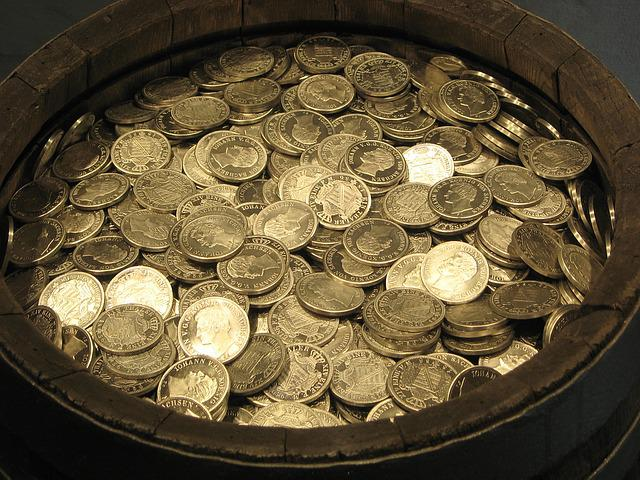 Money, Coins, Gold, Specie, Metal Money, Currency