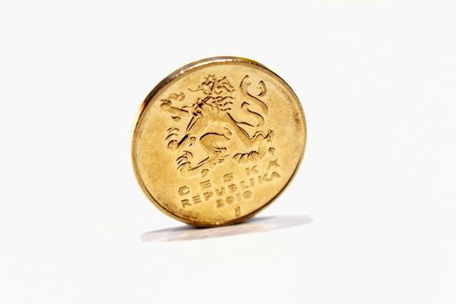 Coins, Crown, Czech, Macro, Czech Republic, Money