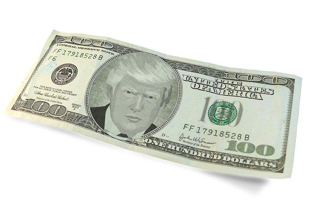 Trump, Dollar, Trade Deal, Symbol, Money, Donald Trump