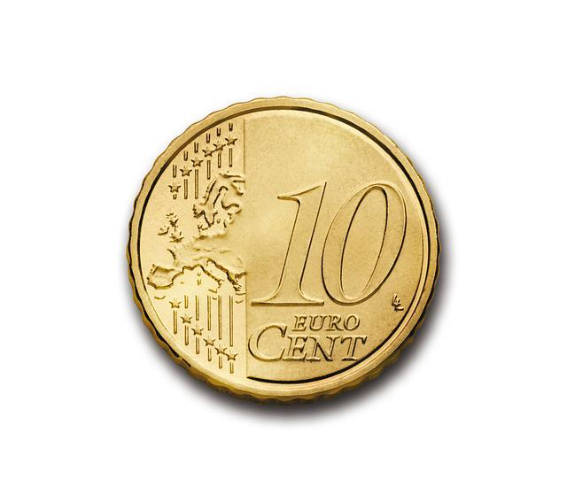 Cent, 10, Euro, Coin, Currency, Europe, Money, Wealth
