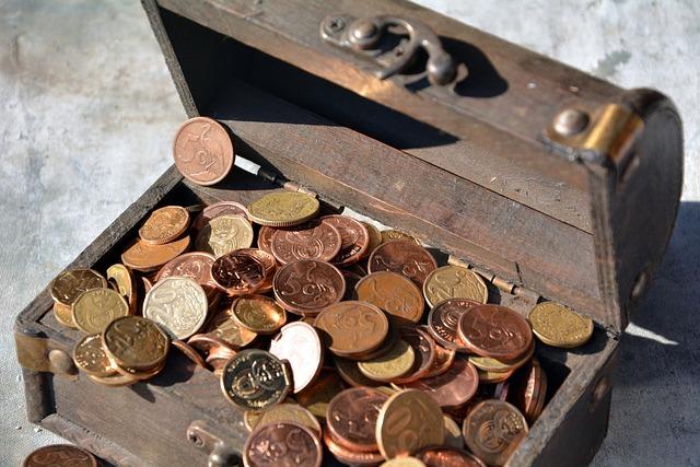Copper, Money, Container, Finance