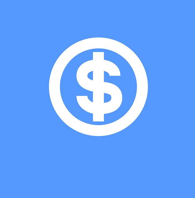 Money Icon, Icon, Icon Blue, Dollar Sign