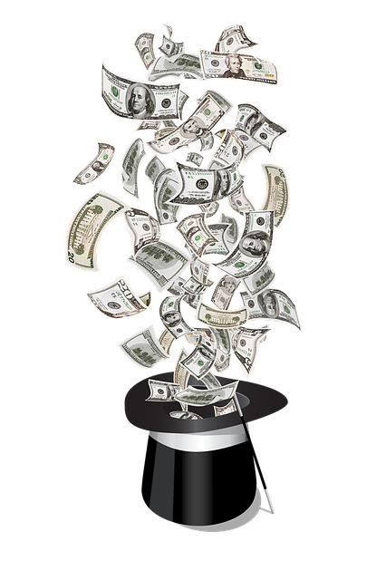 Money, Magic, Dollars, Top Hat Magic