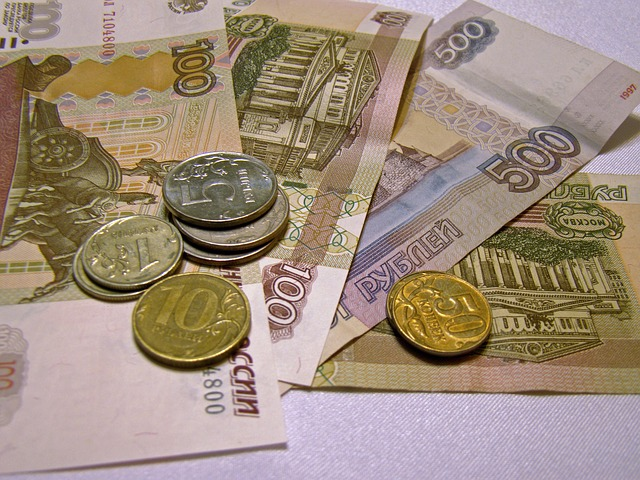 Ruble, Bills, Money, Russia