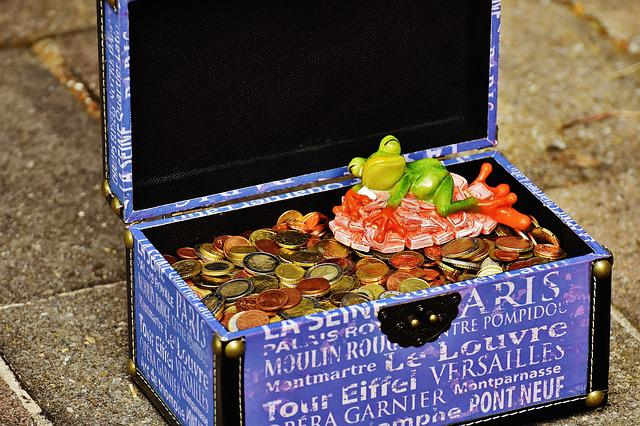 Money Soothes, Sleep, Bunch Of Money, Frog, Fig, Funny