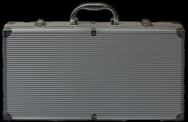Luggage, Aluminium Case, Briefcase, Money Suitcase