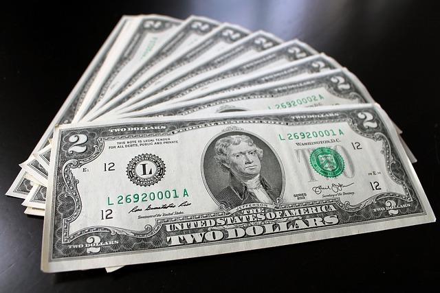 Money, Dollar, Cash Money, Two, Rare