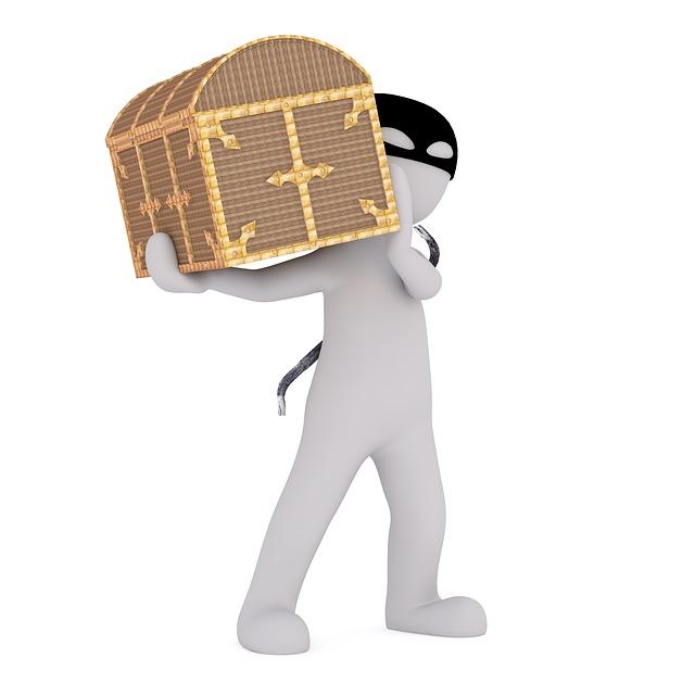 Thief, Burglar, Robber, Predator, Cash, Money, Wealth
