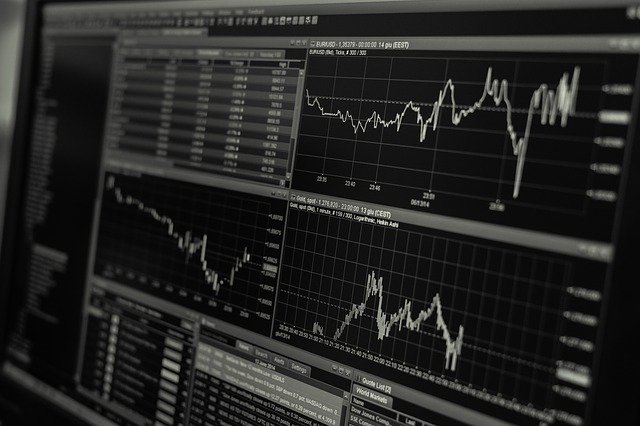 Stock, Trading, Monitor, Business, Finance, Exchange