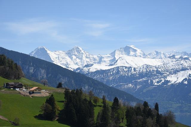Eiger, Monk, Virgin, Switzerland, Alpine, Mountains