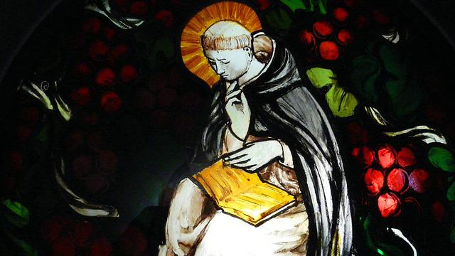 Stained Glass Window, Dominicans, Monk, Glass